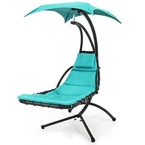 Best Choice Products Hanging Hammock Lounger - Free Standing Hammock Chair