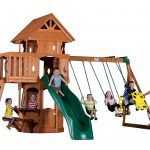Backyard Discovery Play Set: Best Small Swing Sets For Small Backyards