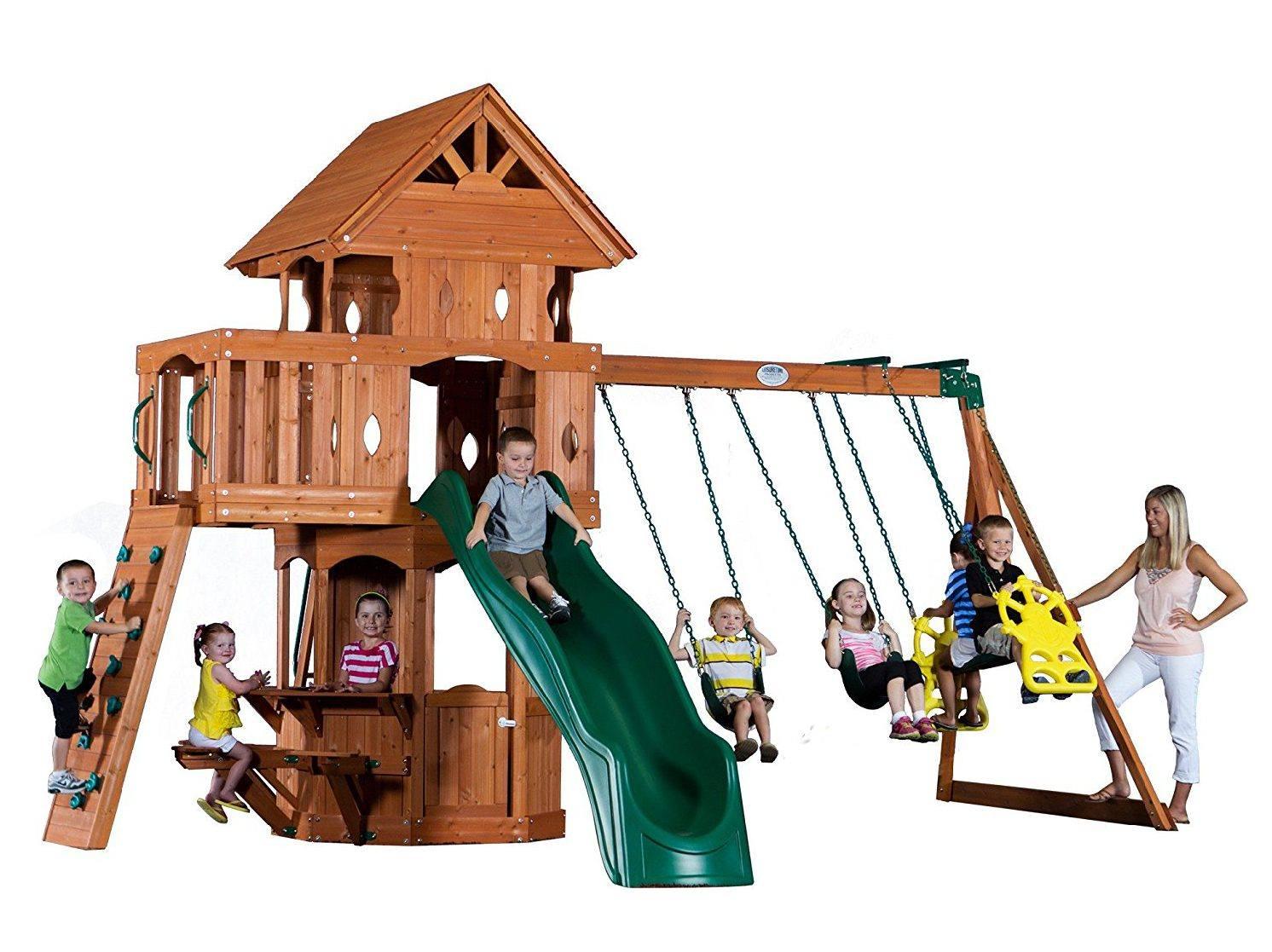 backyard-discovery-small-swing-sets - Best Backyard Gear