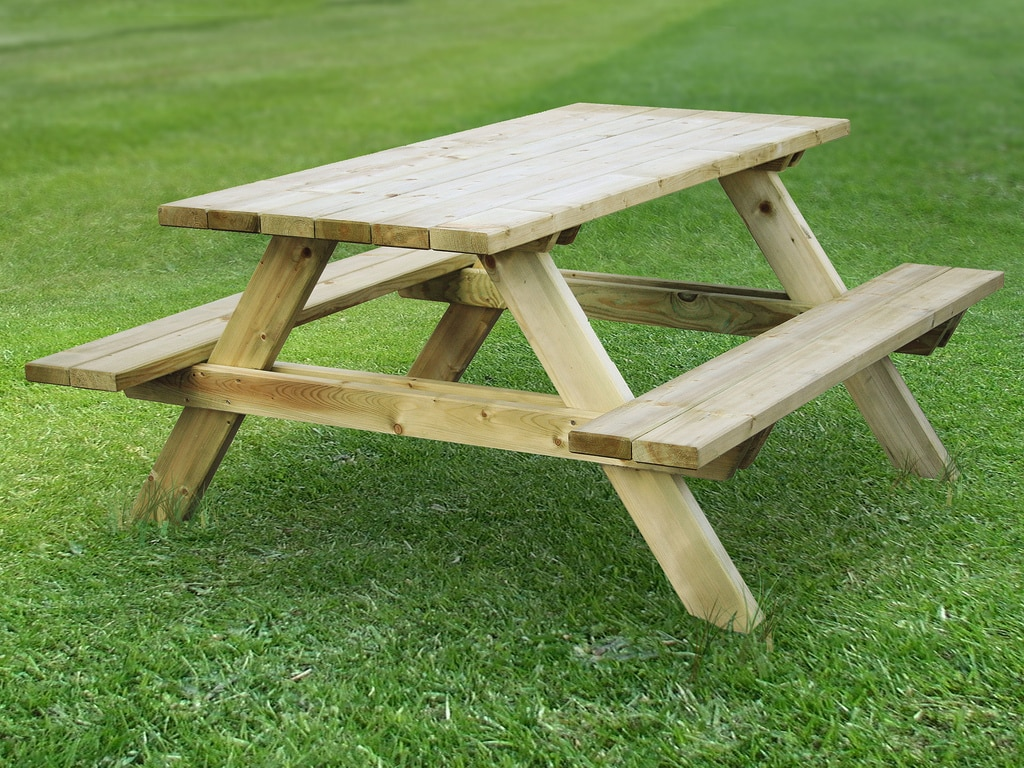 Best Wood Picnic Tables - Ready to assemble picnic table