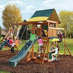 Cedar Summit Brookridge Swingsets Small Backyards