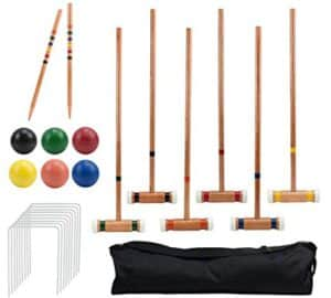 Croquet Set: Best Outdoor Games For Adults