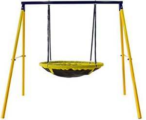 Jump Power UFO Swing Set: Best Swing Sets for Small Backyards