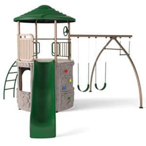 Lifetime Adventure Play Set: Best Swing Sets For Small Backyards
