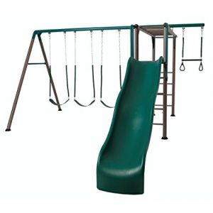 Lifetime Monkey Bar Swing Set: Best Metal Swing Sets