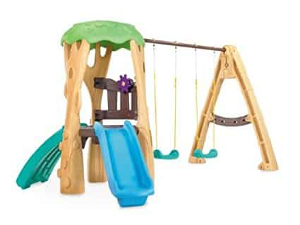 Little Tikes Tree House Swing Set: Best Swing Sets for Small Backyards