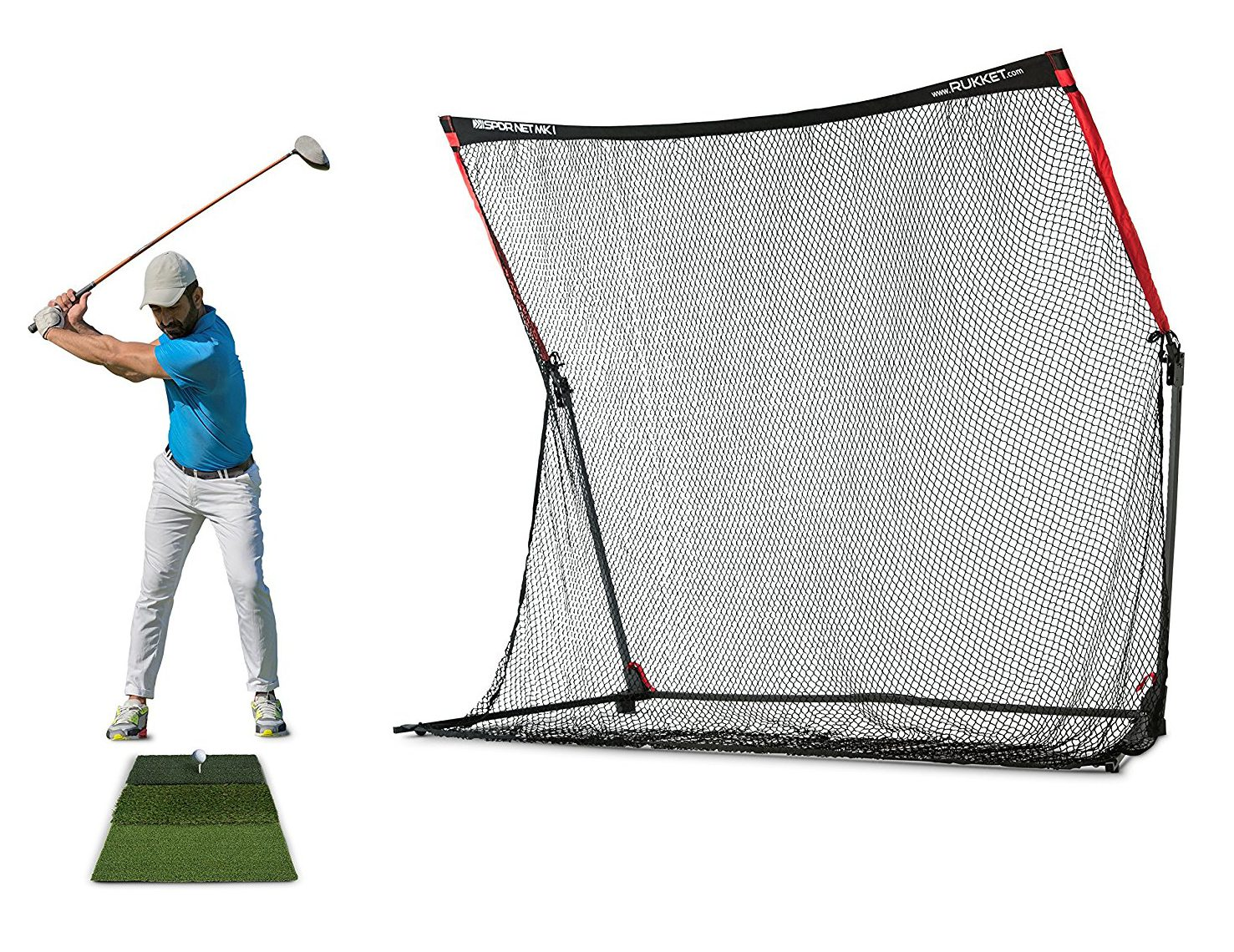 rukket-backyard-golf-net-with-wings - Best Backyard Gear