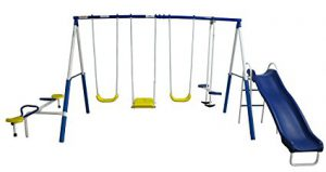 XDP Recreation Swing Set: Best Swing Sets For Small Backyards