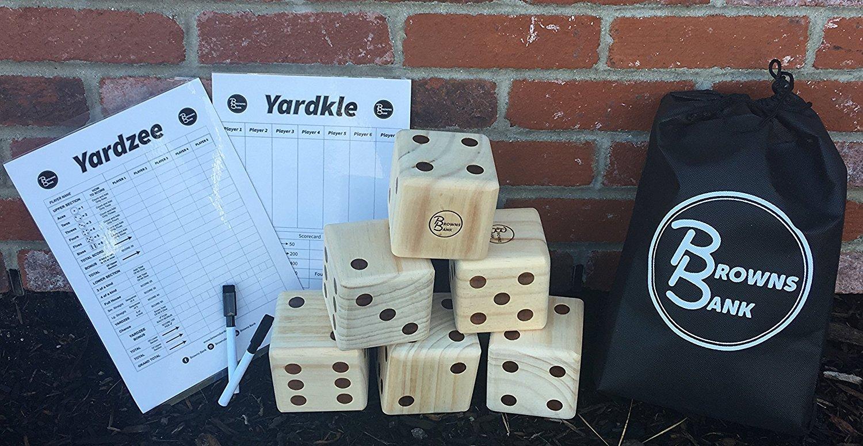 Yardzee And Yardkle Set Outdoor Games Adult Best