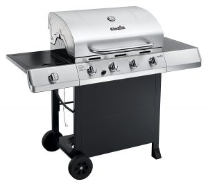 Best Gas Grills 2018: Char-Broil Classic 4-Burner Gas Grill with Side Burner