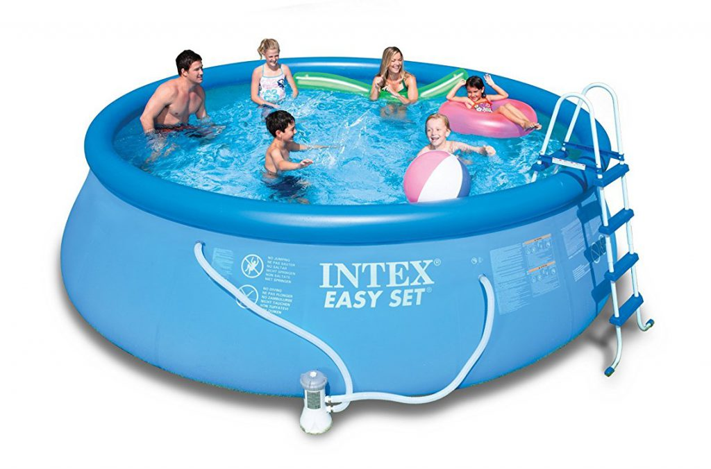Intex Easy Set Pool: Best Above Ground Pools 2020