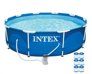 Intex Metal Pool: Best Above Ground Pools 2017