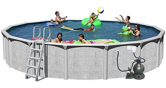 Splash pools above ground round pool best backyard gear for In ground splash pools