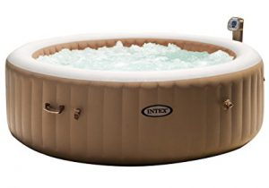 Best Inflatable Hot Tubs 2018: Intex 85in bubble massage hot tub spa