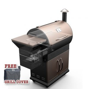 Best Pellet Grills 2018: Z GRILLS Wood Pellet Barbecue Grill and Smoker with Digital Temperature Controls