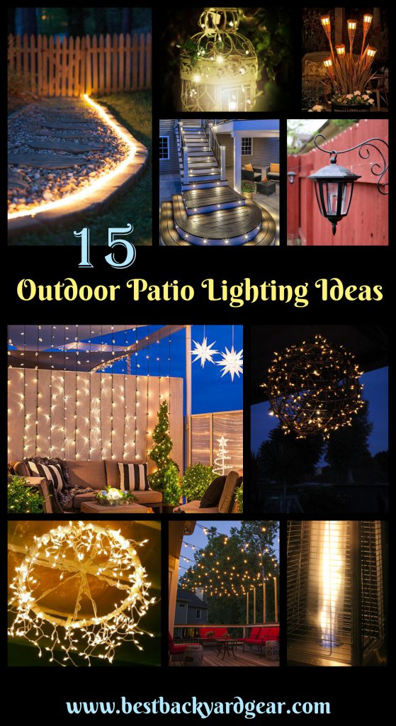 15 Outdoor Patio Lighting Ideas Youu0027ll Love!