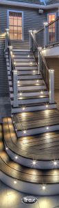 deck and stair lighting: outdoor patio lighting ideas