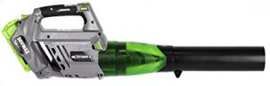 Best Battery Operated Leaf Blowers 2018: Earthwise LB20058 58-Volt Variable Speed Leaf Blower, Variable speed dial - 105 MPH/480CFM (2Ah Battery and Charger Included)