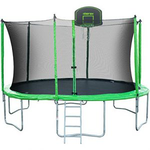 Best Trampolines For Teenagers | Best Trampolines For Adults 2018: Merax Swoop