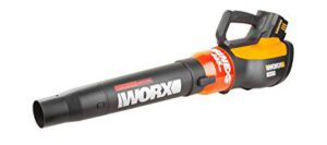 Best Battery Operated Leaf Blowers 2018: WORX TURBINE 56V Cordless Blower with Brushless Motor, 125 MPH and 465 CFM Output with TURBO Boost and Variable Speed