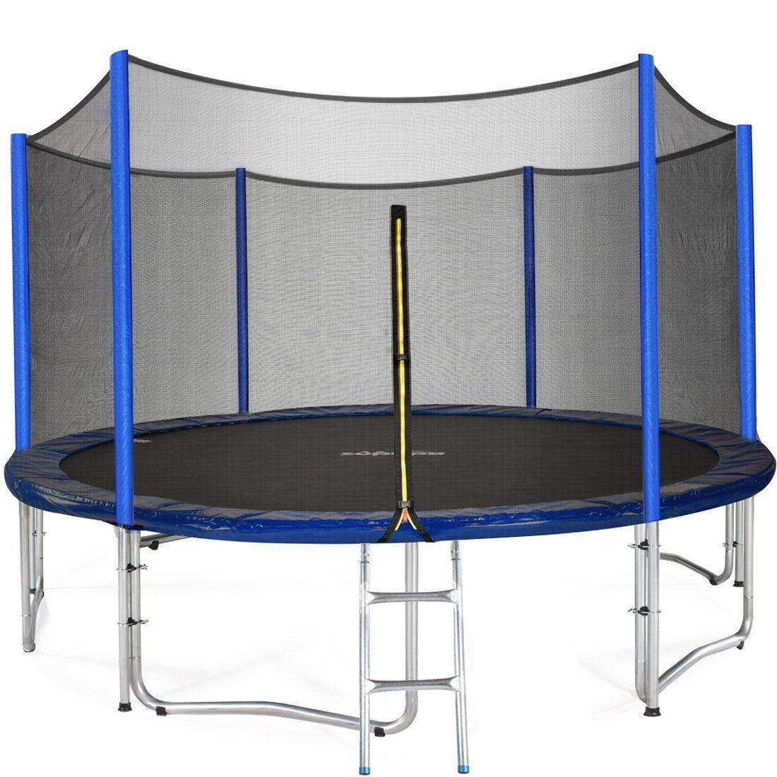zupapa-15-ft-trampoline-for-teenagers - Best Backyard Gear