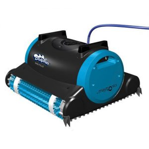 Best Pool Cleaners For Inground Pools 2018: Dolphin 99996323 Dolphin Nautilus Robotic Pool Cleaner with Swivel Cable, 60-Feet