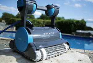 Best Robotic Pool Cleaners For Inground Pools 2020: Dolphin Premier Robotic In-Ground Pool Cleaner
