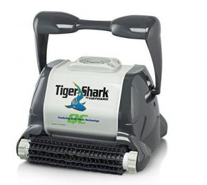 Best Pool Cleaners For Inground Pools 2018: Hayward TigerShark Swimming Pool Robotic Cleaner