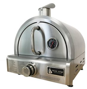 Best Outdoor Pizza Ovens Reviews: Mont Alpi MAPZ-SS Table Top Gas Pizza Oven, Large, Stainless Steel