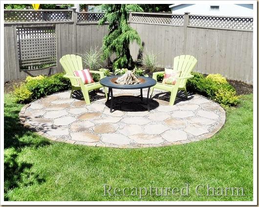 small-round-patio-fire-pit-area   Best Backyard Gear