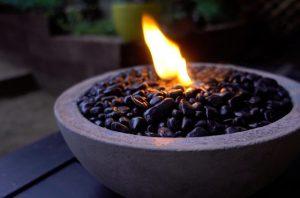 Backyard Fire Pit Ideas: Concrete Fire Pit Bowl