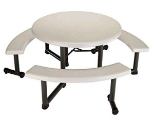 Best Round Picnic Tables: Lifetime Round Picnic Tables