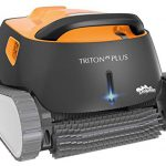 Best Robotic Pool Cleaners 2018: Dolphin Triton Plus Robotic Pool Cleaner with PowerStream and Bluetooth