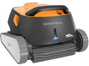 Best Robotic Pool Cleaners 2020: Dolphin Triton Plus Robotic Pool Cleaner with PowerStream and Bluetooth