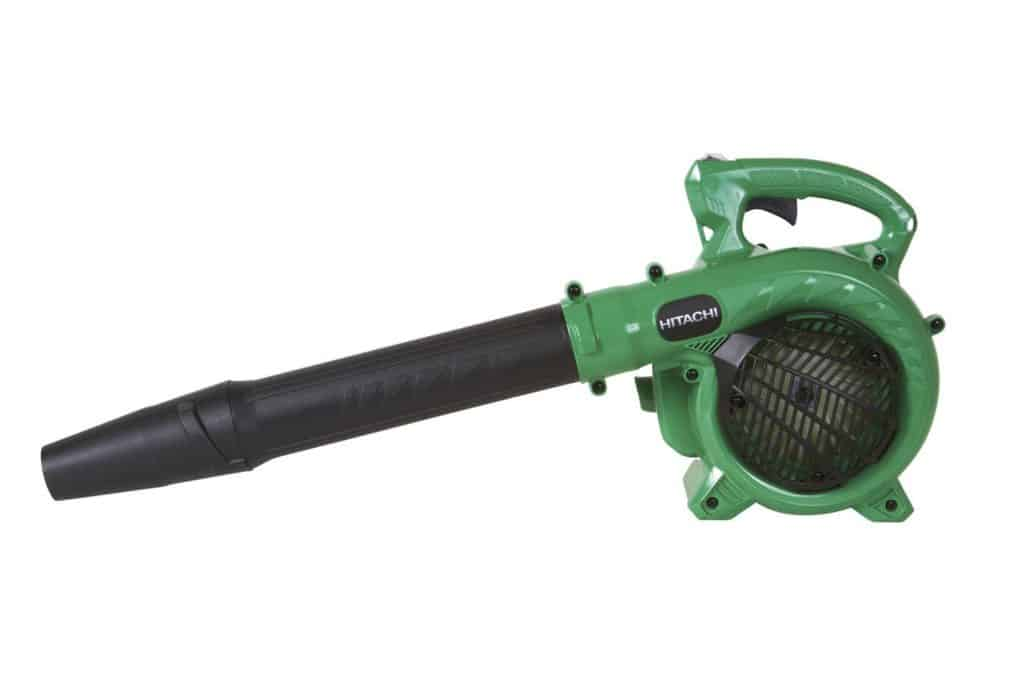 Best Gas Powered Leaf Blowers 2020: Hitachi RB24EAP Gas Powered Leaf Blower, Handheld, Lightweight, 23.9cc 2 Cycle Engine