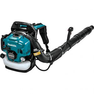 Best backpack gas powered leaf blowers 2018: Makita EB5300TH 52.5 cc MM4 4-Stroke Engine Tube Throttle Backpack Blower