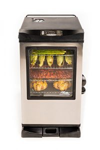Best Digital Electric Smokers 2020: Masterbuilt 20077615 Digital Electric Smoker with Window