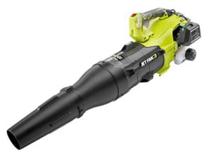 Best Gas Powered Leaf Blowers 2020: Ryobi RY25AXB 160 MPH 520 CFM 25cc Gas Jet Fan Blower