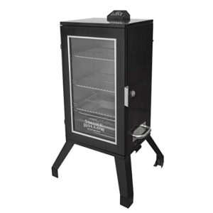 Best Digital Electric Smokers 2020: Smoke Hollow 3016DEW 30-Inch Digital Electric Smoker with Window, Black