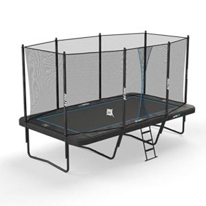 Best Trampolines For Gymnastics: Acon Trampoline Air 16 Sport HD with Enclosure | Includes 10'x17' Rectangular Trampoline, Safety Net, Safety Pad and Ladder
