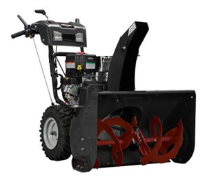Best Snow Blower For Gravel Driveways 2018: Briggs and Stratton 1696563 Dual-Stage Snow Thrower with 306cc Engine and Electric Start