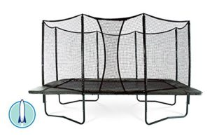 Best Trampolines for Gymnasts: JumpSport AlleyOOP PowerBounce 10'x17' Trampoline with Enclosure