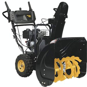 Best Snow Blowers For Gravel Driveways 2018: Poulan Pro PR241-24-Inch 208cc Two Stage Electric Start Snowthrower