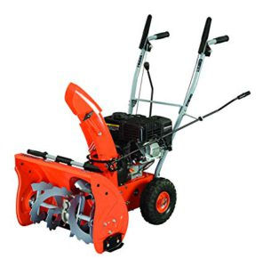 Best Snow Blowers For Gravel Driveways 2018: YARDMAX YB5765 Two-Stage Snow Blower, 6.5 hp, 196cc, 22