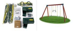 Eastern Jungle Gym Play Set Hardware Kit - Best Small Swing Sets 2019