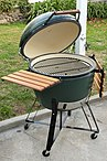 A brand new Big Green Egg XL