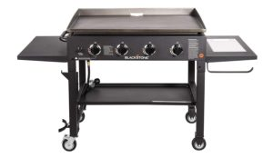 Best 4 Burner Propane Grills: Blackstone 36 inch Outdoor Flat Top Gas Grill Griddle Station - 4-burner - Propane Fueled