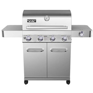 Best 4 Burner Propane Grills 2020: Monument Grills 17842 Stainless Steel 4 Burner Propane Gas Grill with Rotisserie