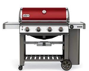 Best 4 Burner Propane Grills 2019: Weber-Stephen Products 62030001 Genesis II E-410 Liquid Propane Grill