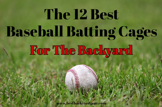 The Best Backyard Batting Cages 2020 title image